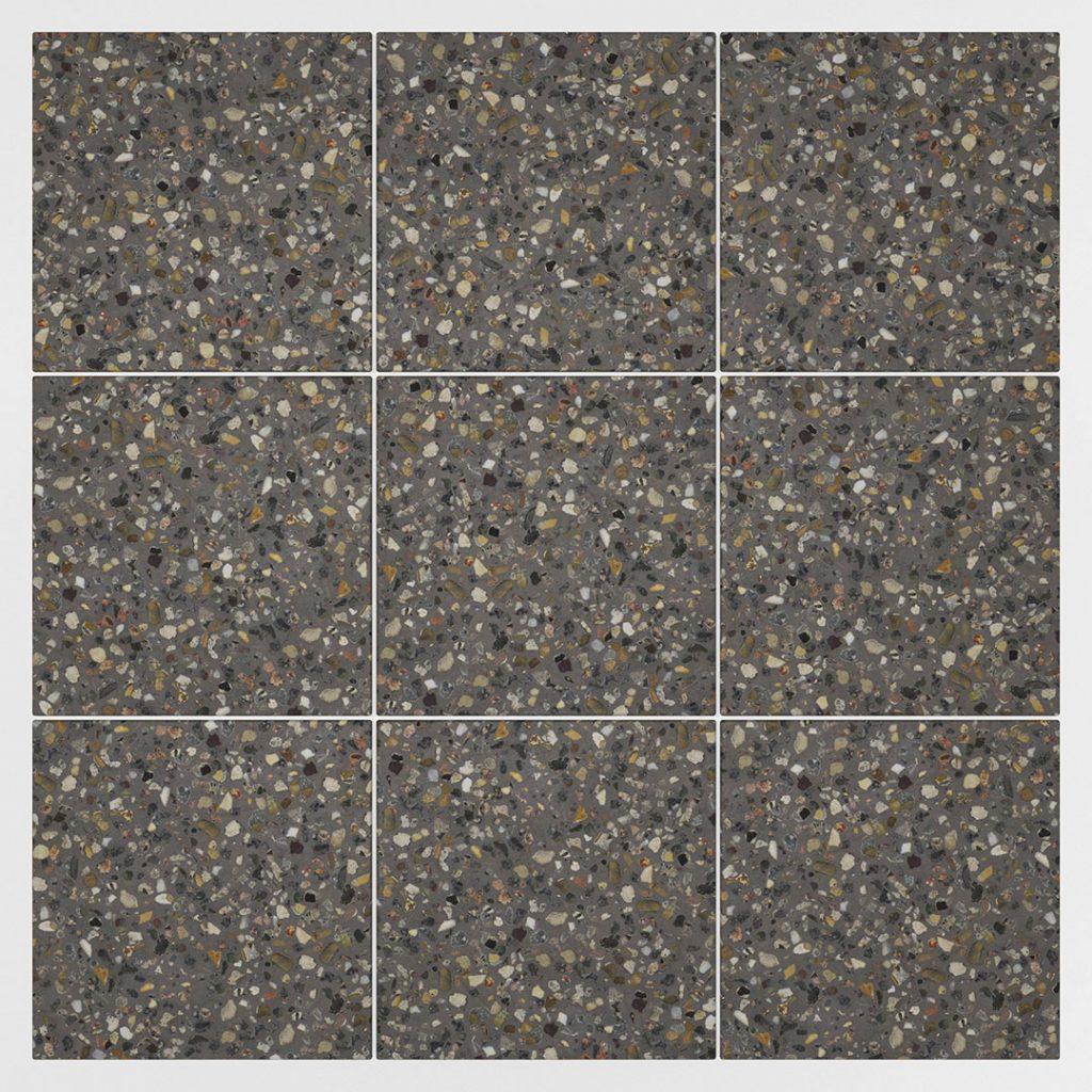 Diggels   betongranulaat   antraciet   middel 4-8